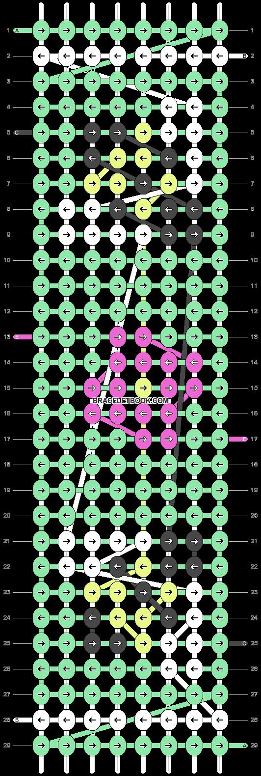 Alpha pattern #46501 pattern