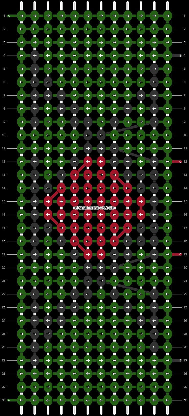 Alpha pattern #46502 pattern