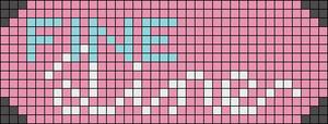 Alpha pattern #46517
