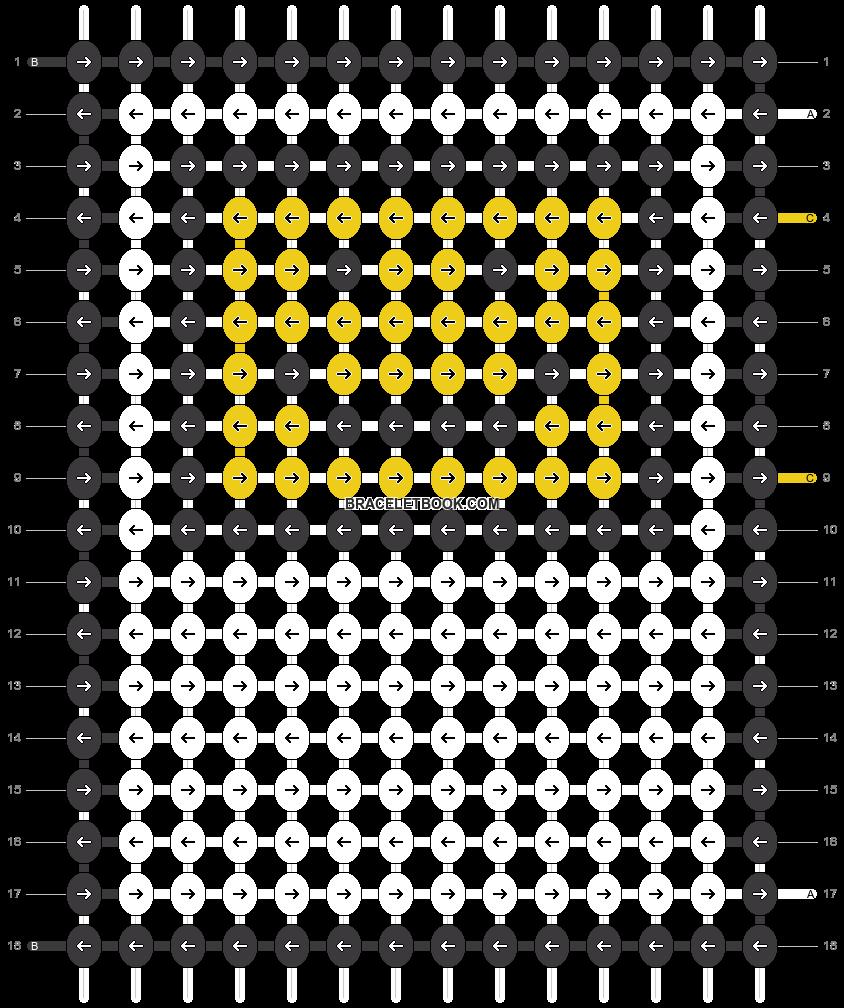 Alpha pattern #46518 pattern