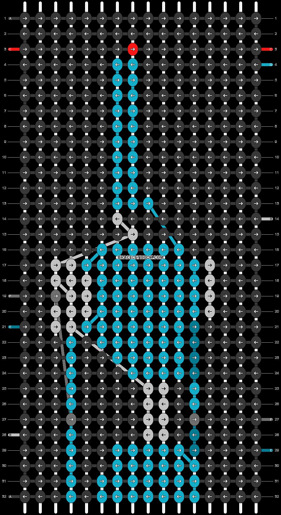 Alpha pattern #46531 pattern