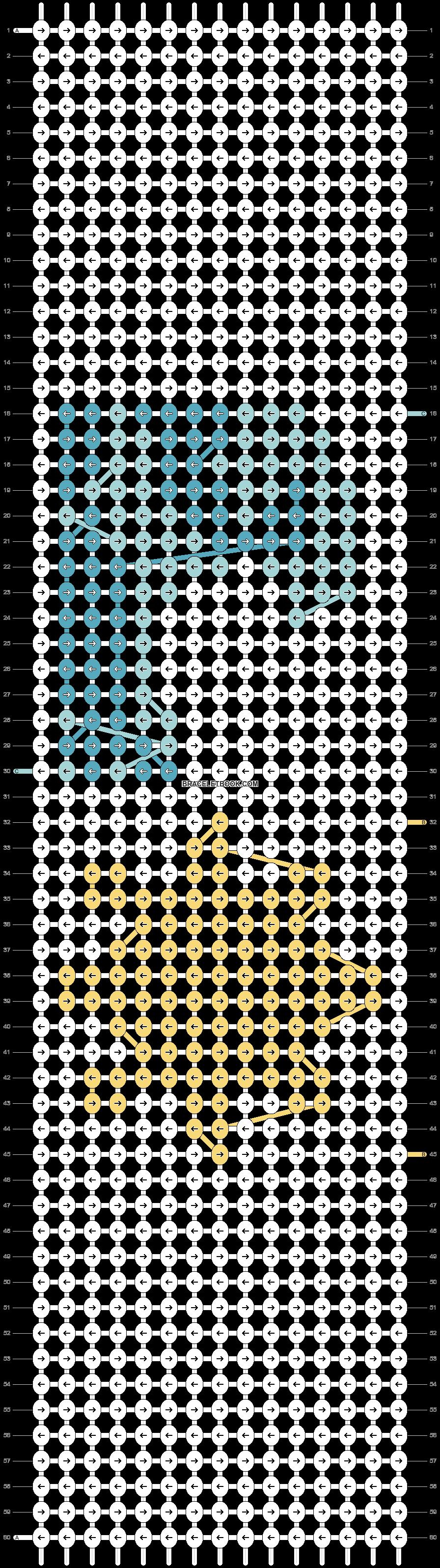 Alpha pattern #46554 pattern