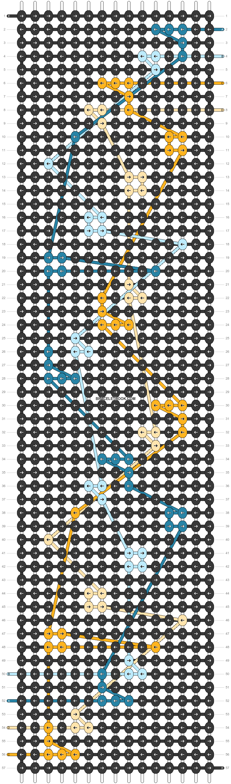 Alpha pattern #46558 pattern