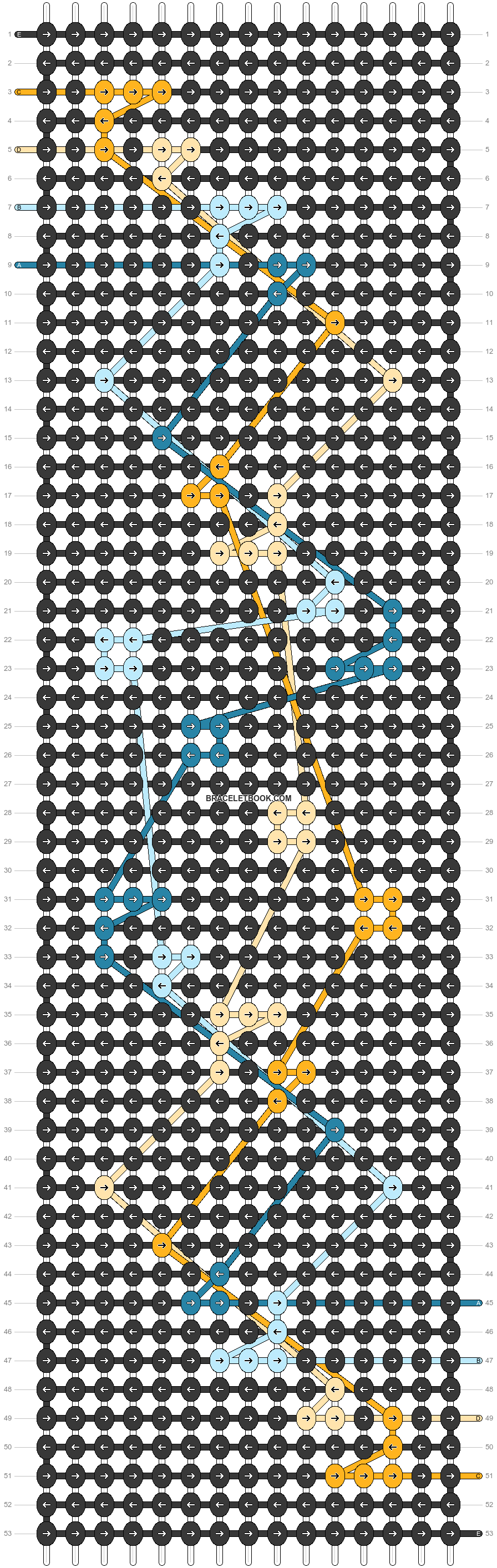 Alpha pattern #46562 pattern