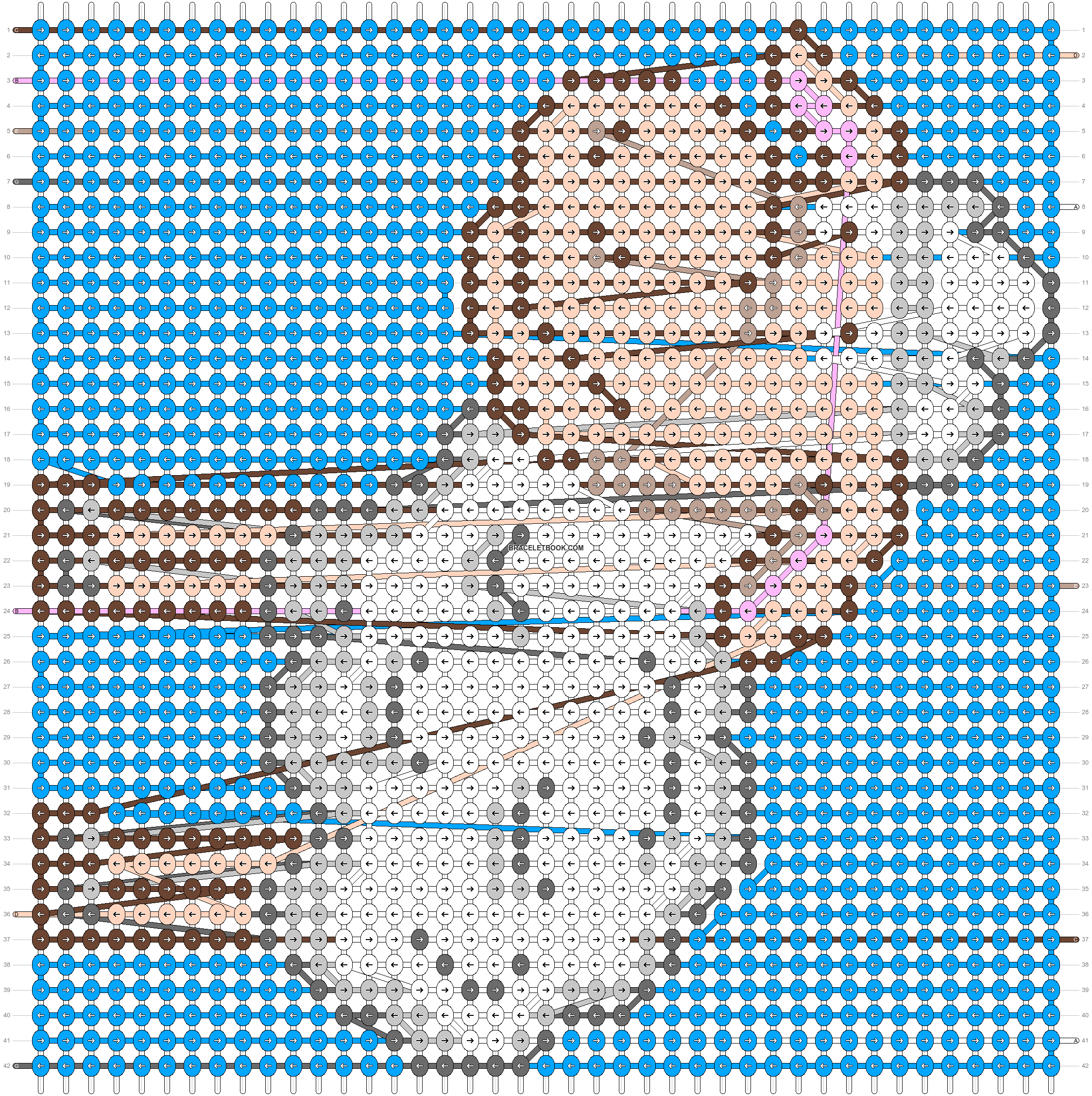 Alpha pattern #46569 pattern