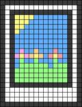 Alpha pattern #46589