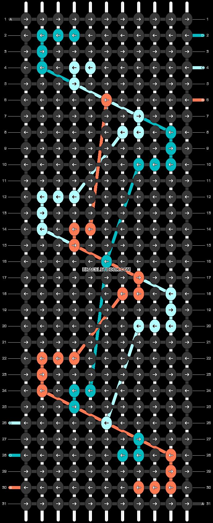 Alpha pattern #46614 pattern
