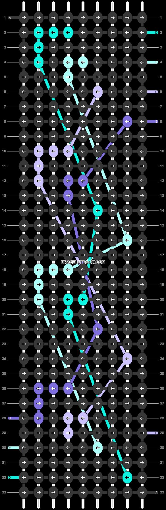Alpha pattern #46615 pattern