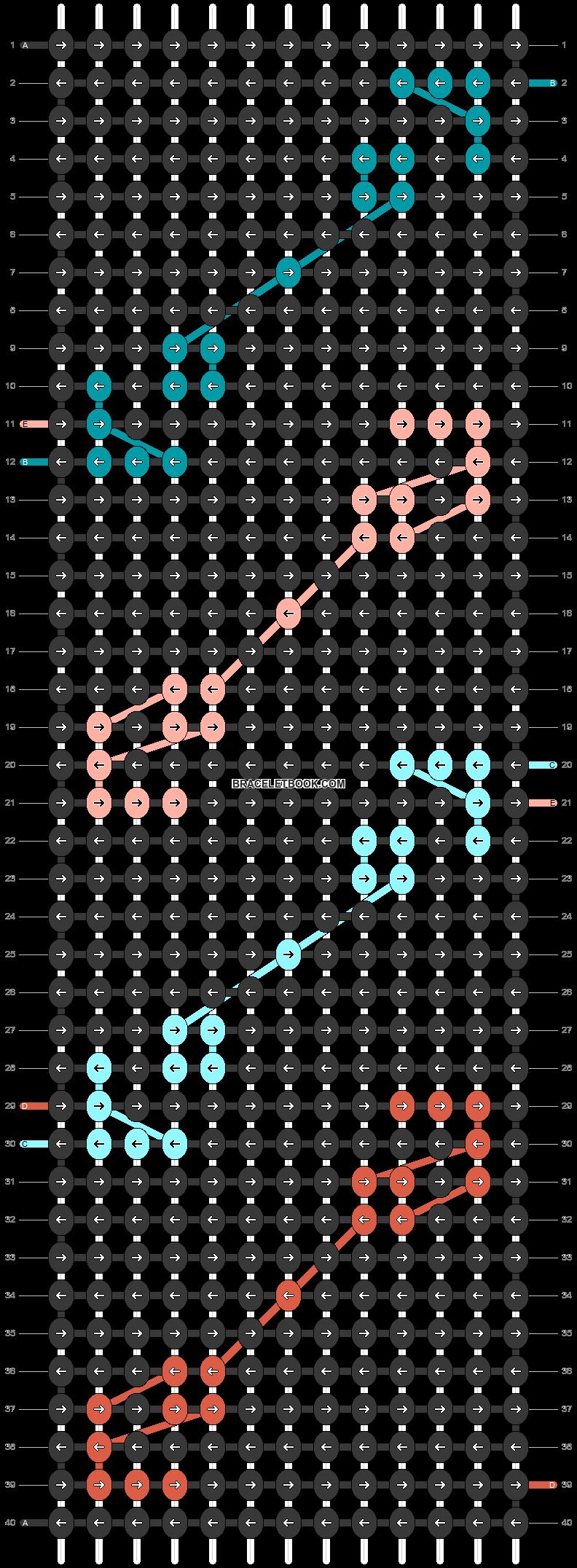 Alpha pattern #46620 pattern