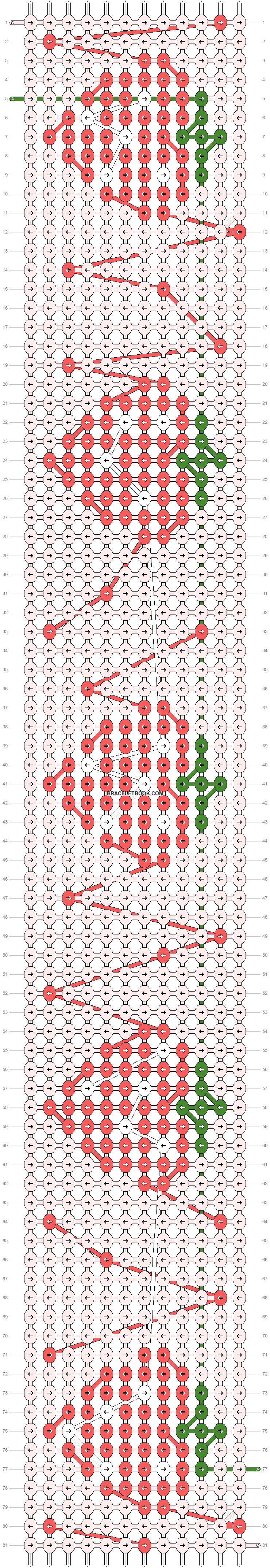 Alpha pattern #46627 pattern
