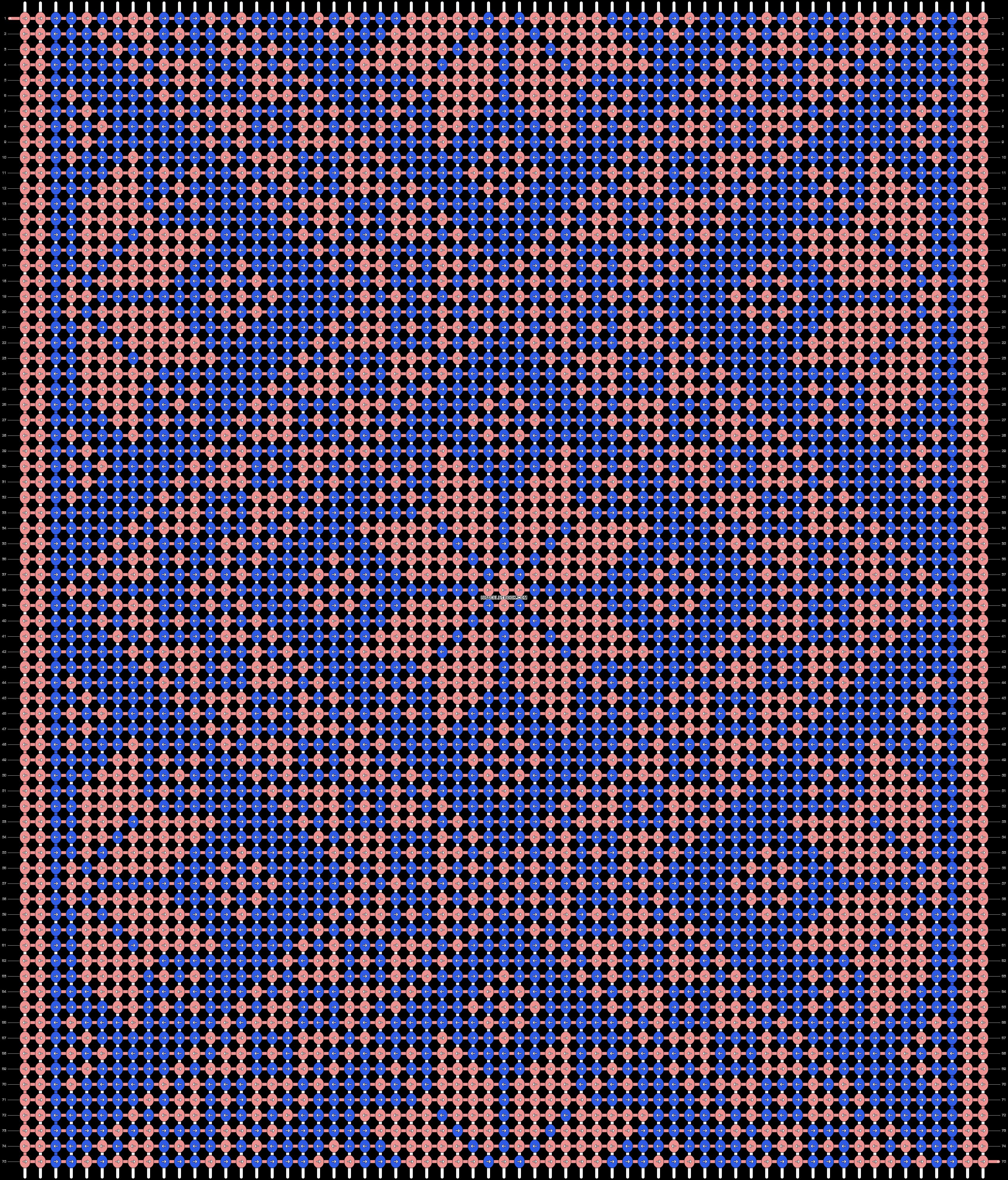 Alpha pattern #46631 pattern