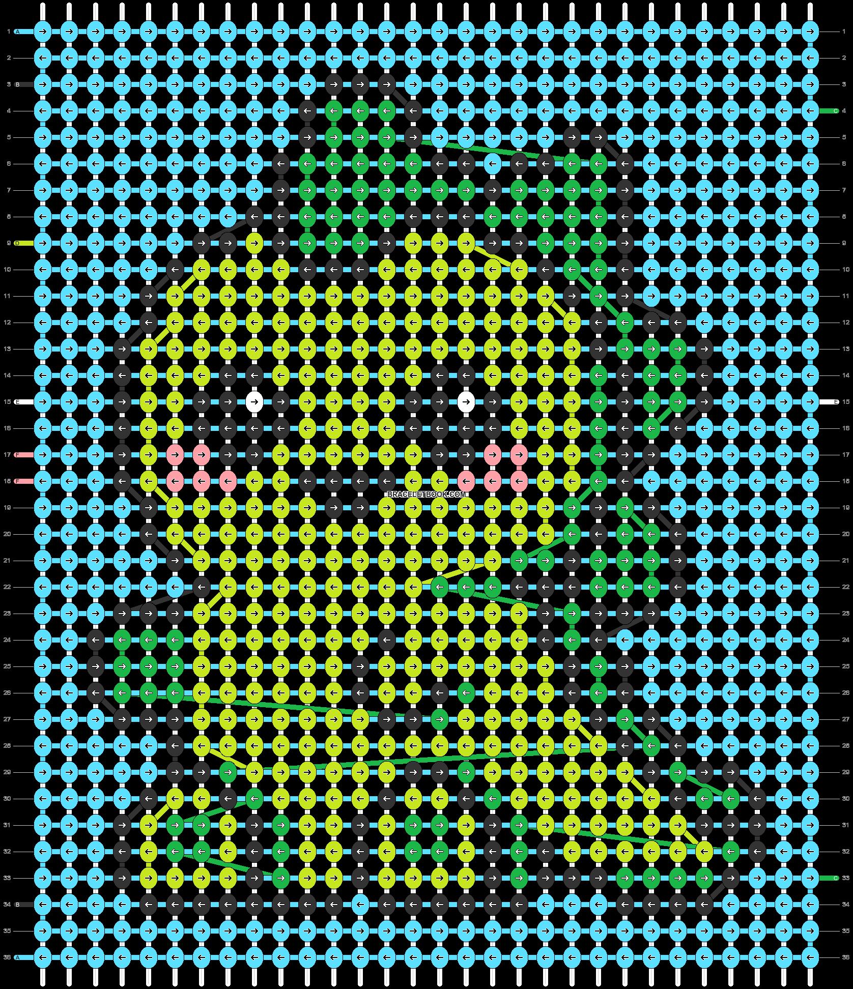 Alpha pattern #46649 pattern