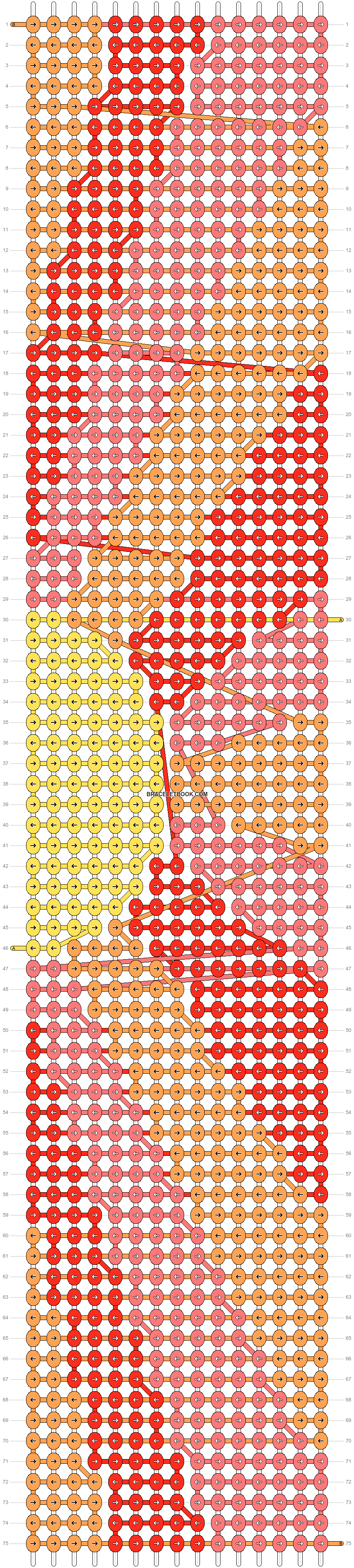 Alpha pattern #46660 pattern