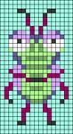 Alpha pattern #46678