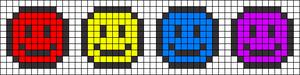 Alpha pattern #46685