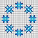 Alpha pattern #46691