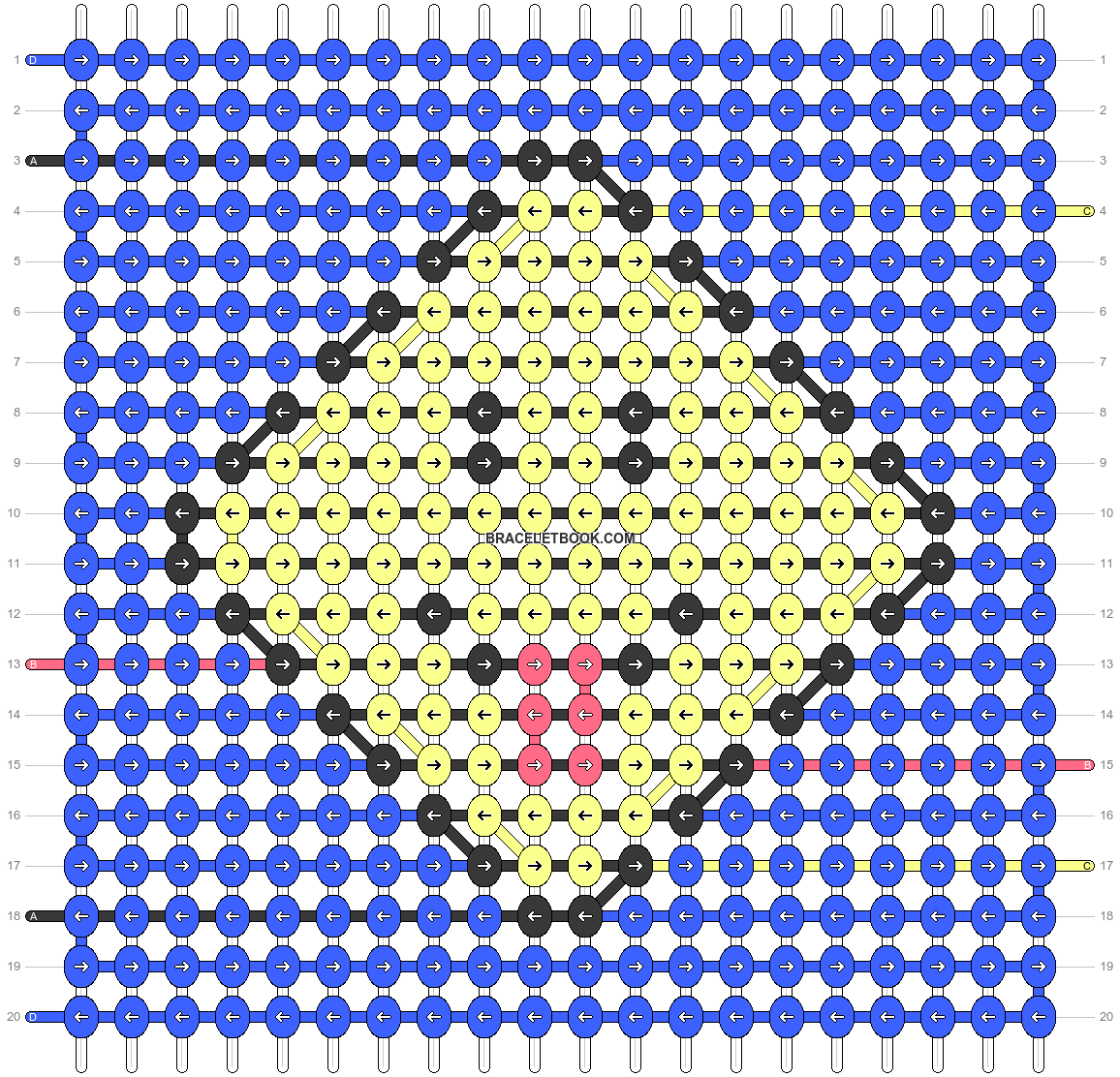 Alpha pattern #46698 pattern