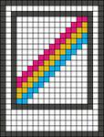 Alpha pattern #46699