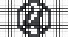 Alpha pattern #46710
