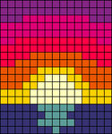 Alpha pattern #46716