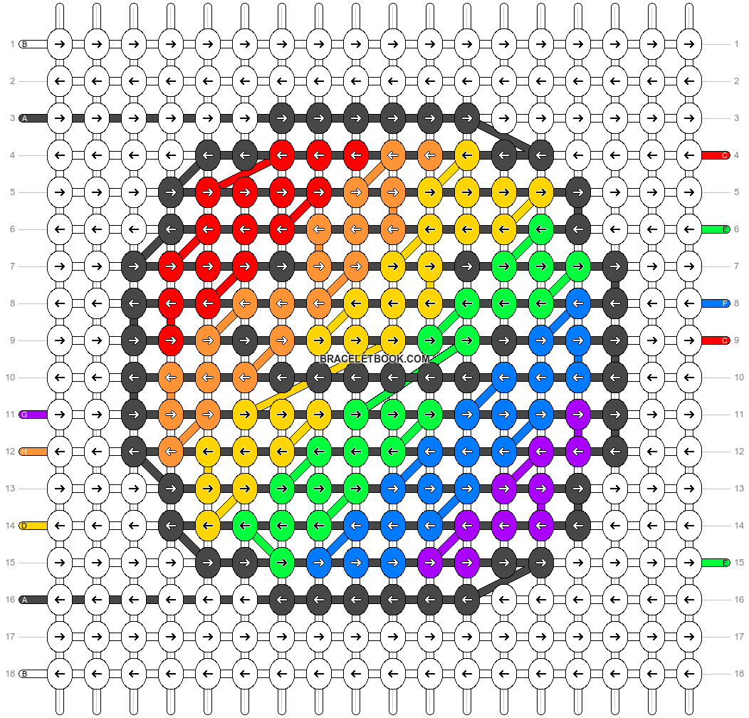 Alpha pattern #46725 pattern