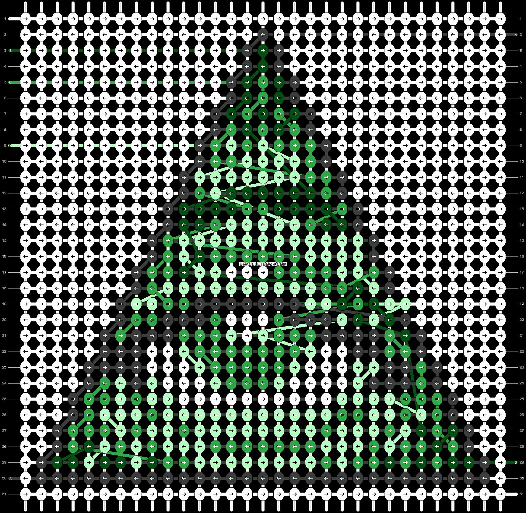 Alpha pattern #46739 pattern
