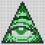 Alpha pattern #46739