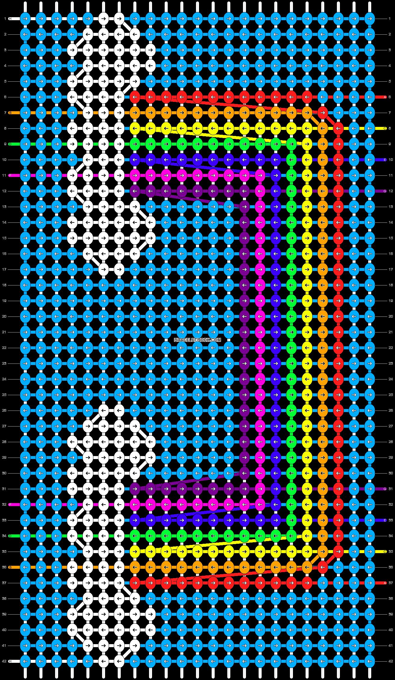 Alpha pattern #46760 pattern