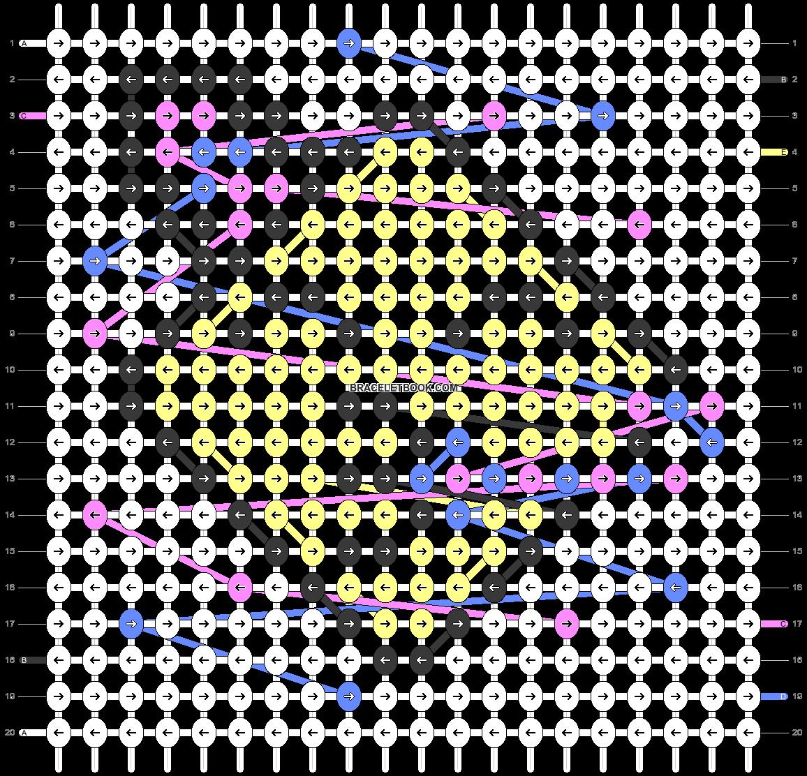 Alpha pattern #46765 pattern