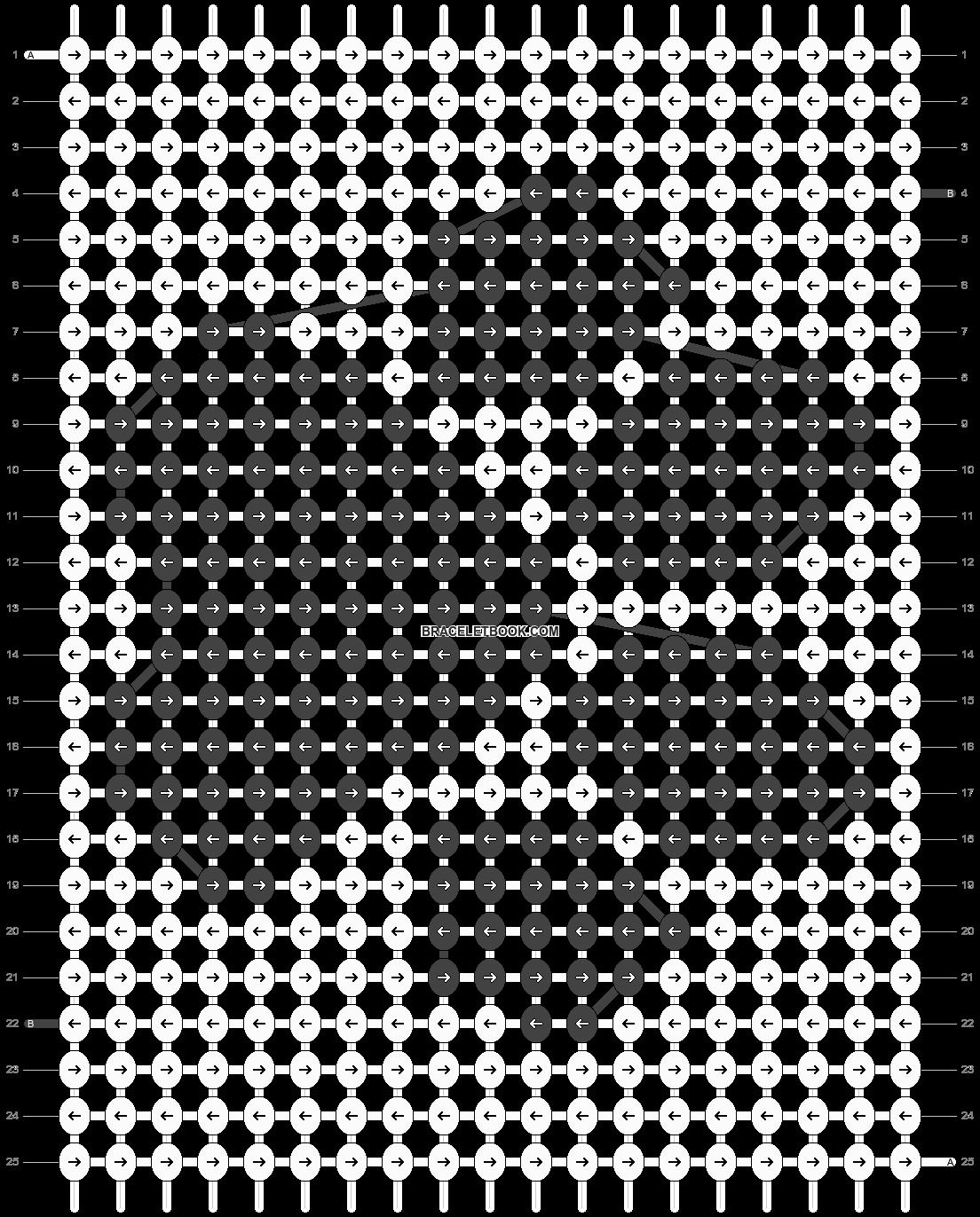 Alpha pattern #46775 pattern