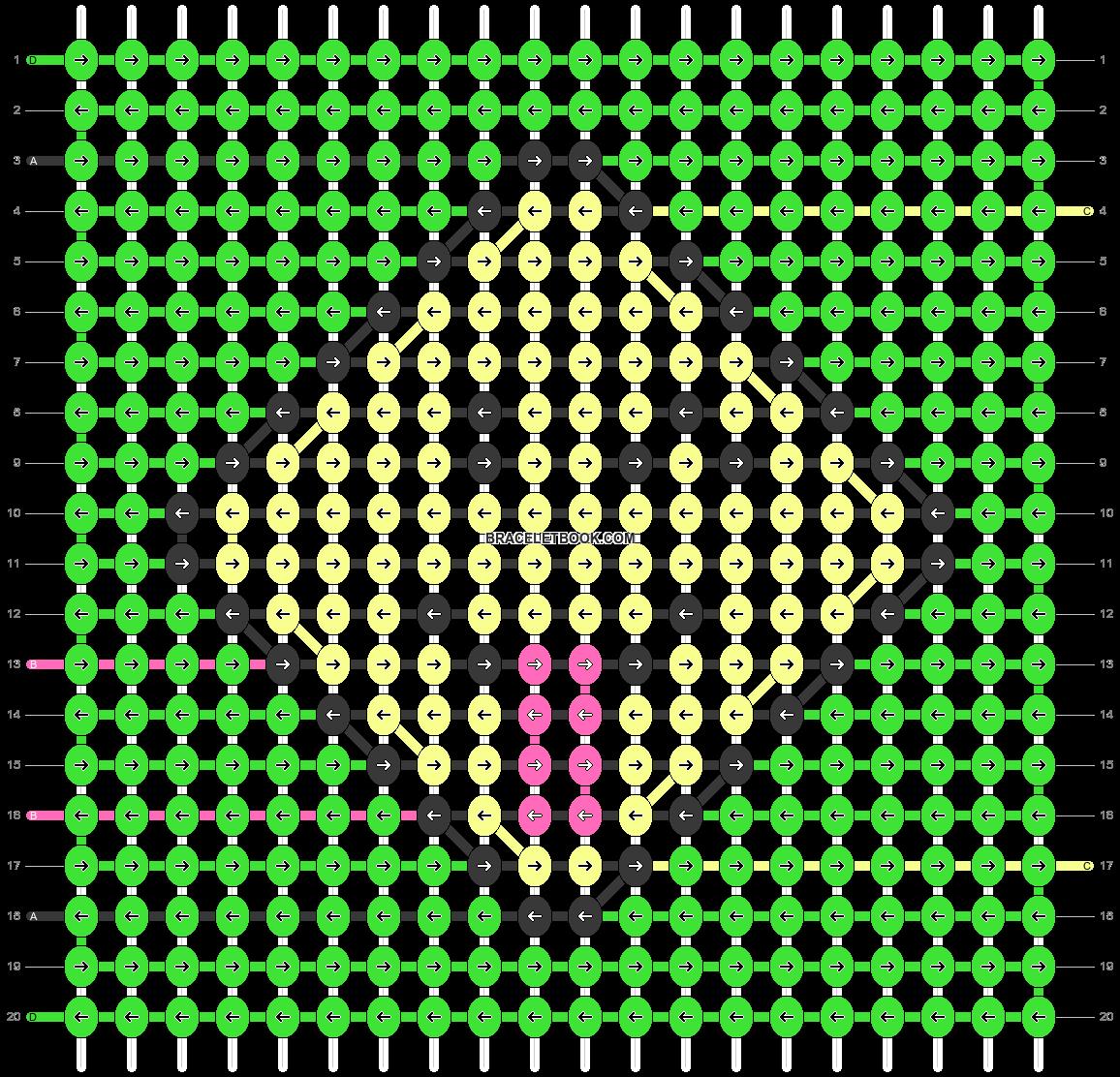 Alpha pattern #46780 pattern