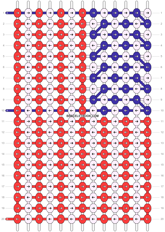 Alpha pattern #46798 pattern