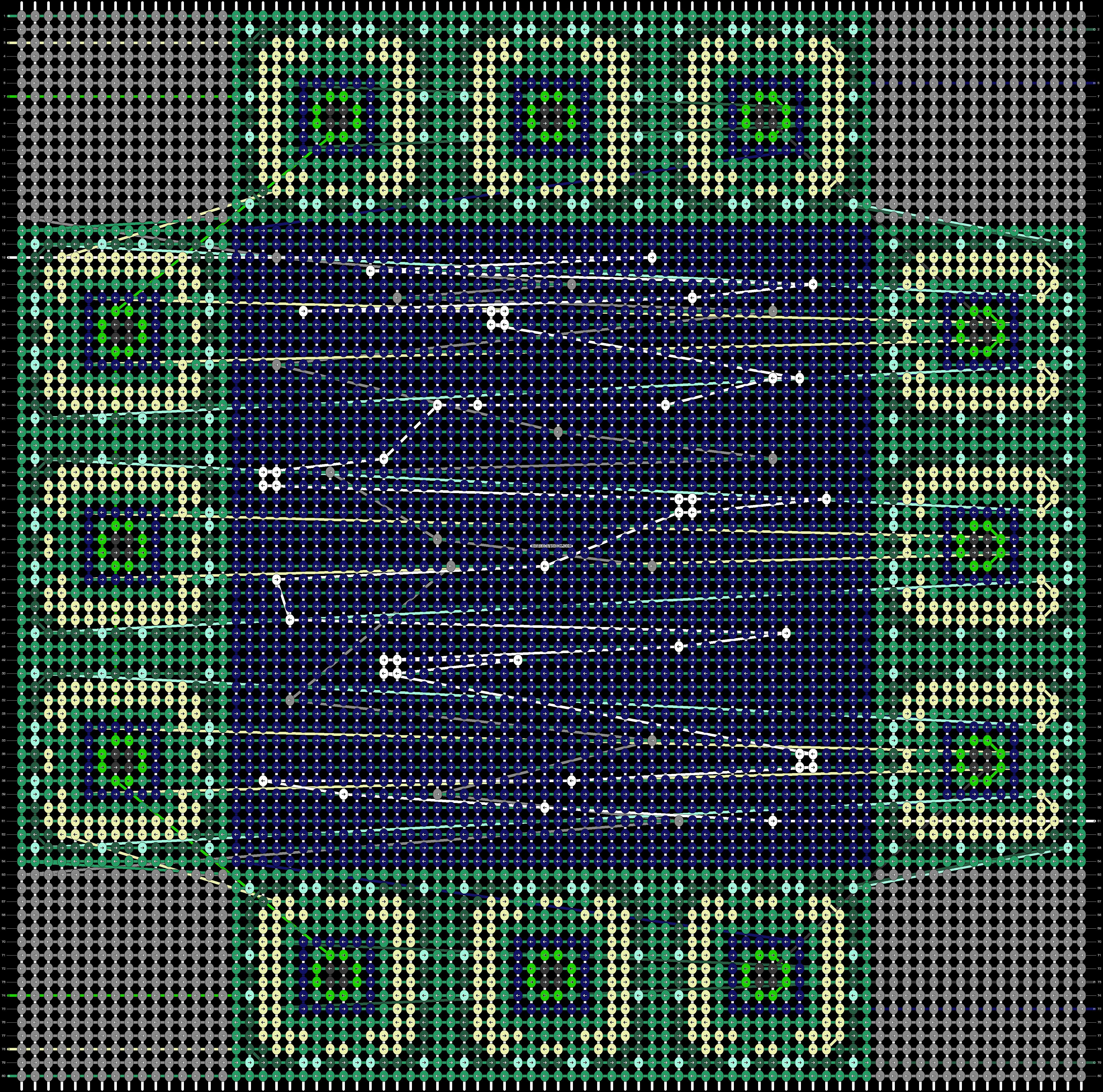 Alpha pattern #46832 pattern