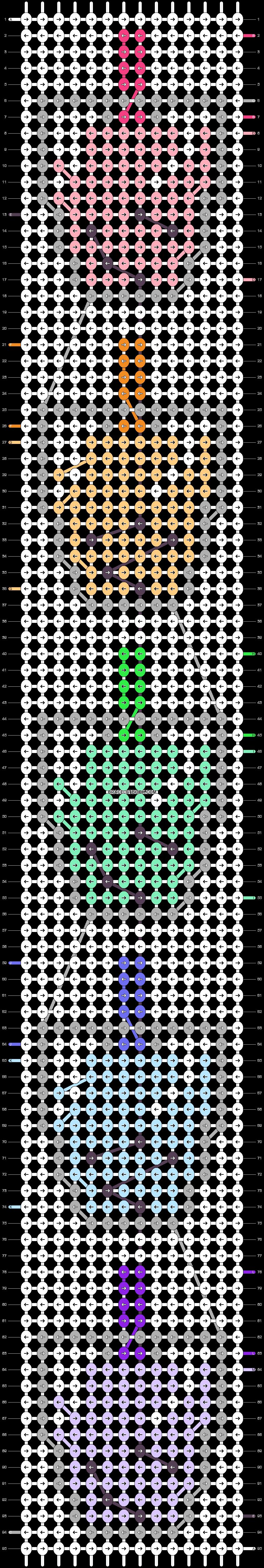 Alpha pattern #46834 pattern