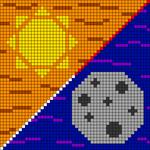 Alpha pattern #46858