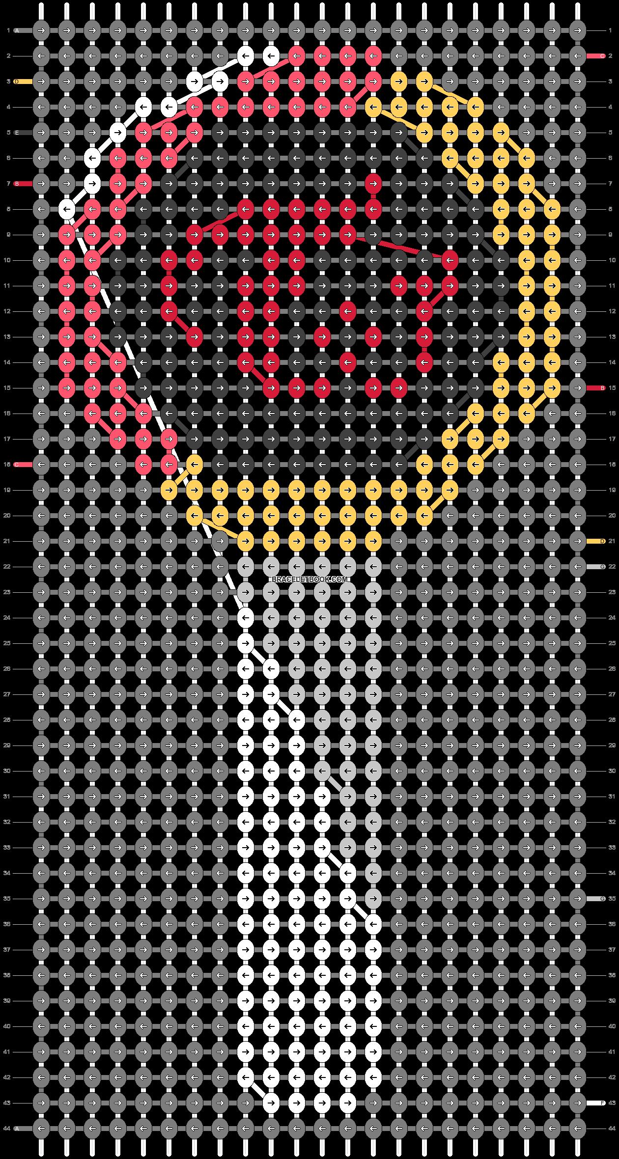 Alpha pattern #46861 pattern