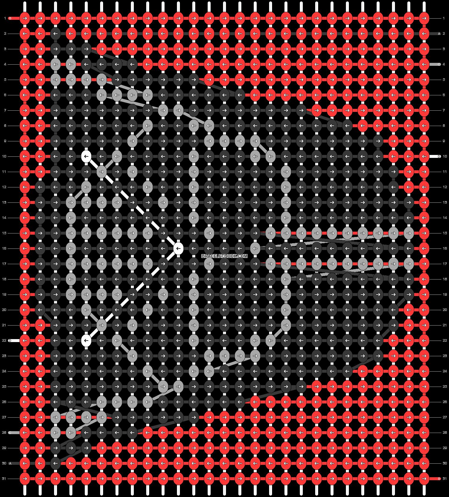 Alpha pattern #46863 pattern
