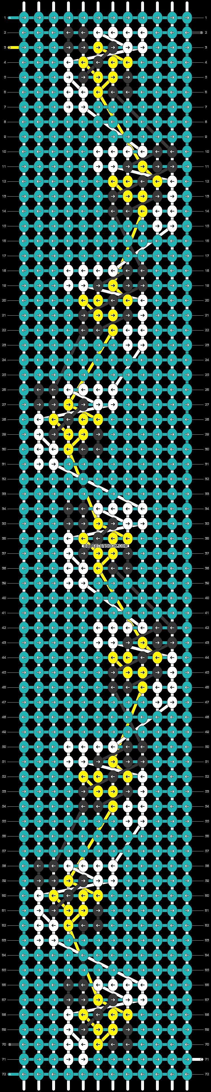 Alpha pattern #46870 pattern