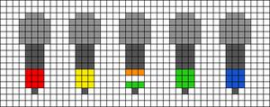 Alpha pattern #46882