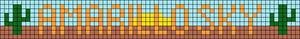 Alpha pattern #46883