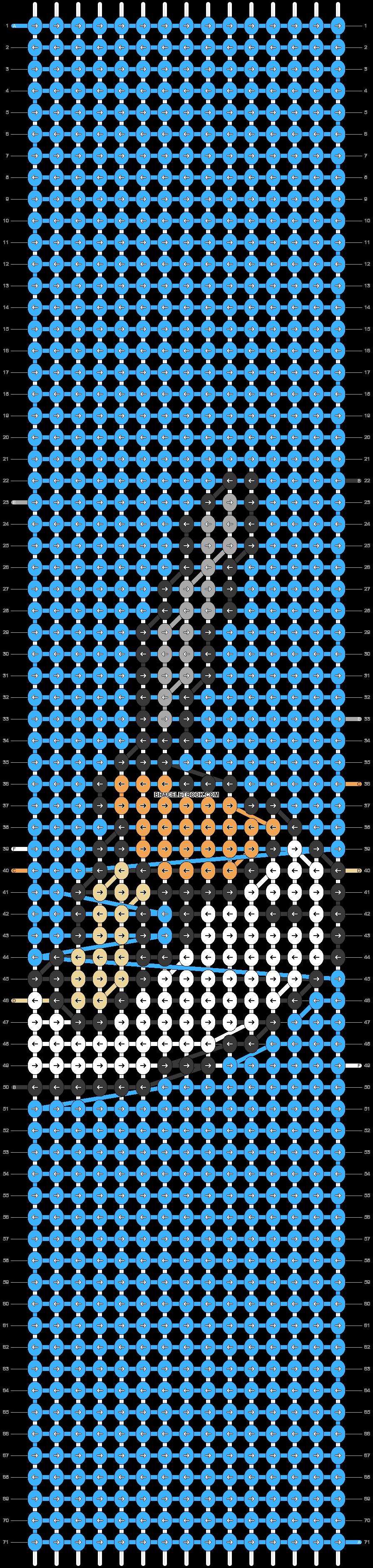 Alpha pattern #46923 pattern