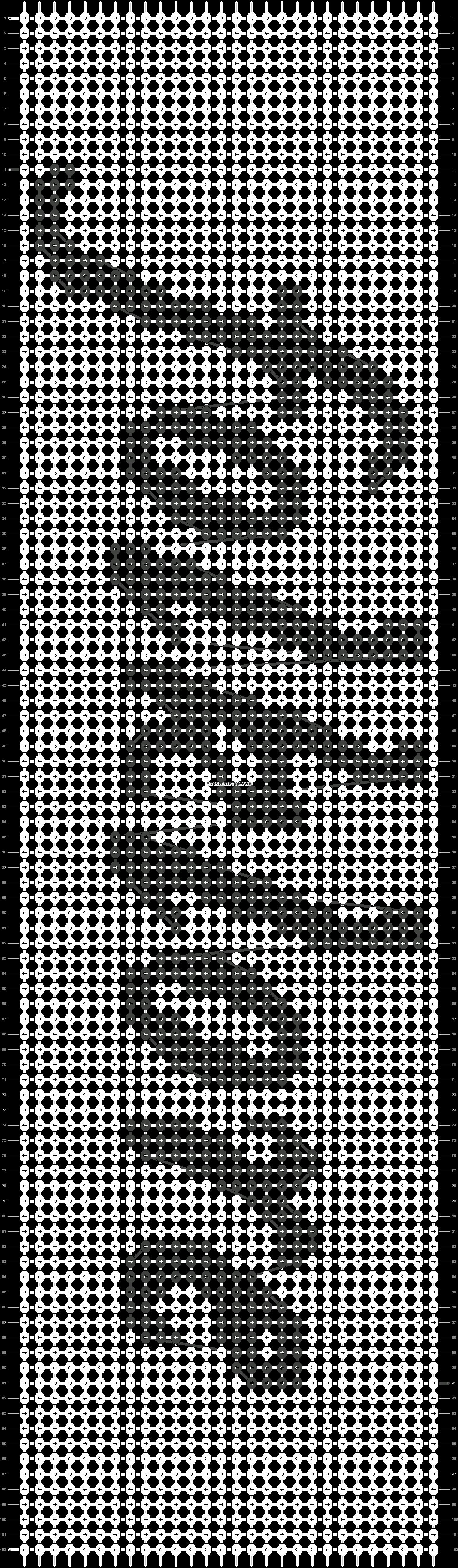 Alpha pattern #46940 pattern