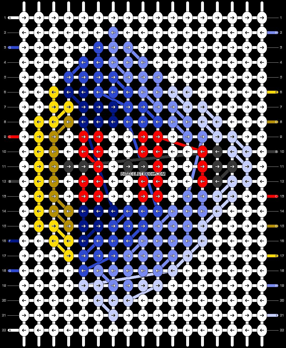 Alpha pattern #46963 pattern