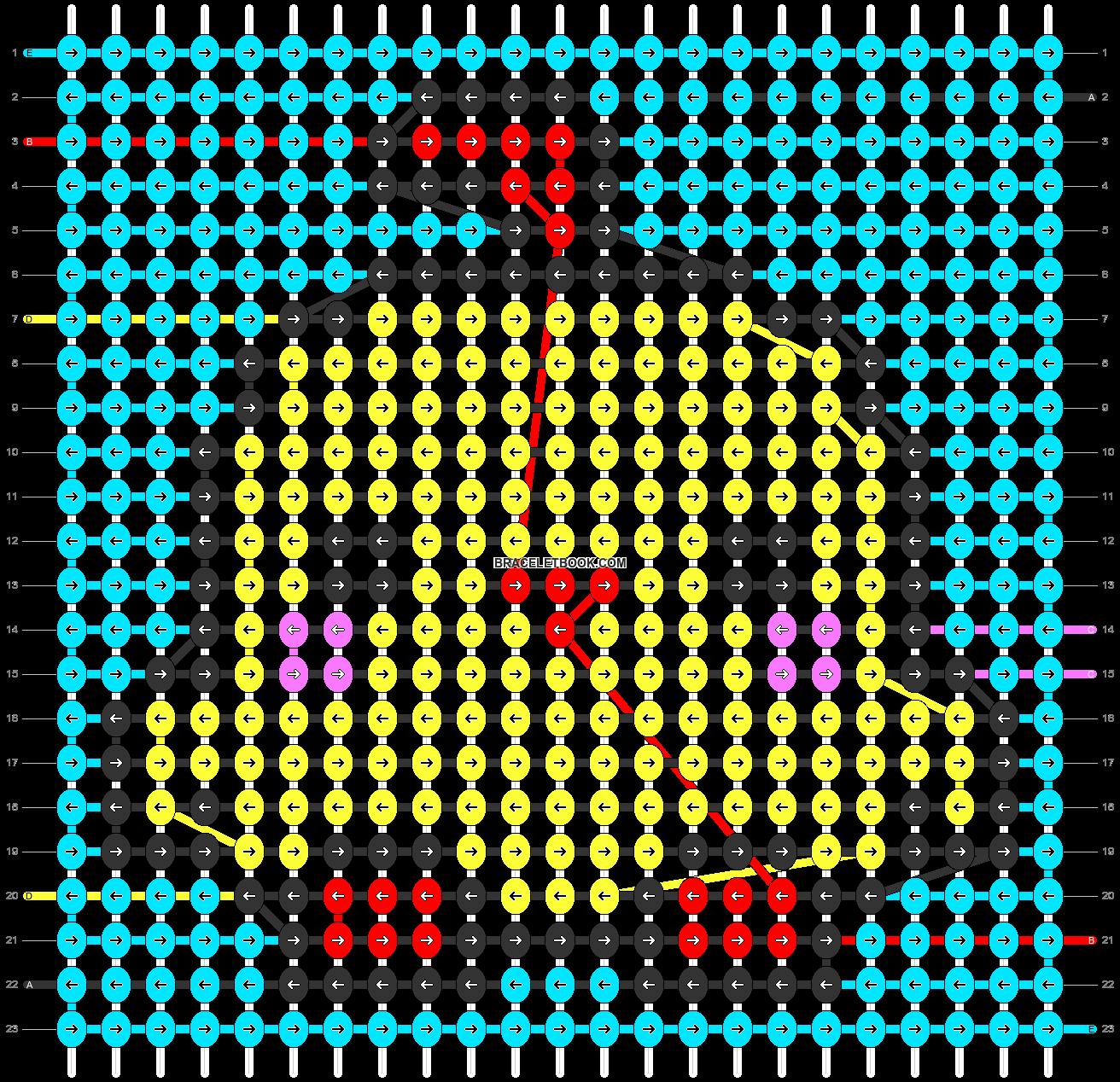 Alpha pattern #46970 pattern