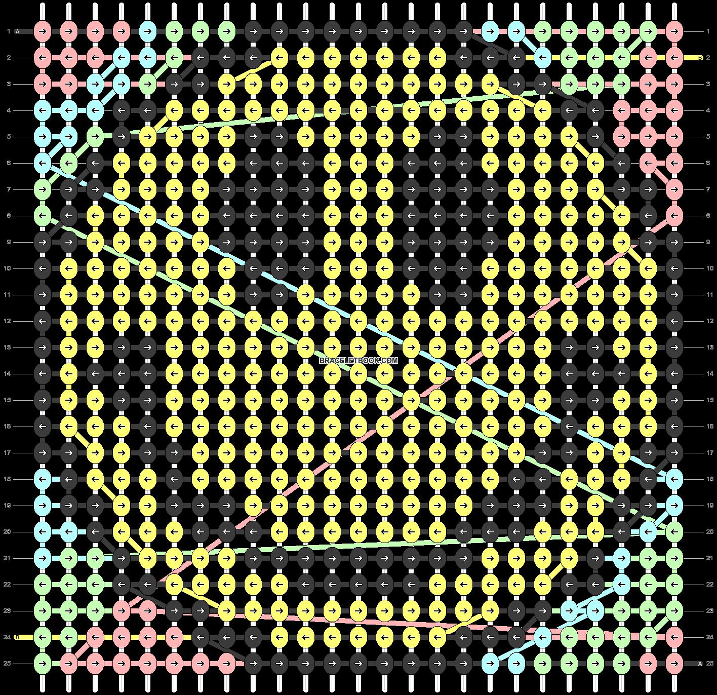 Alpha pattern #46972 pattern