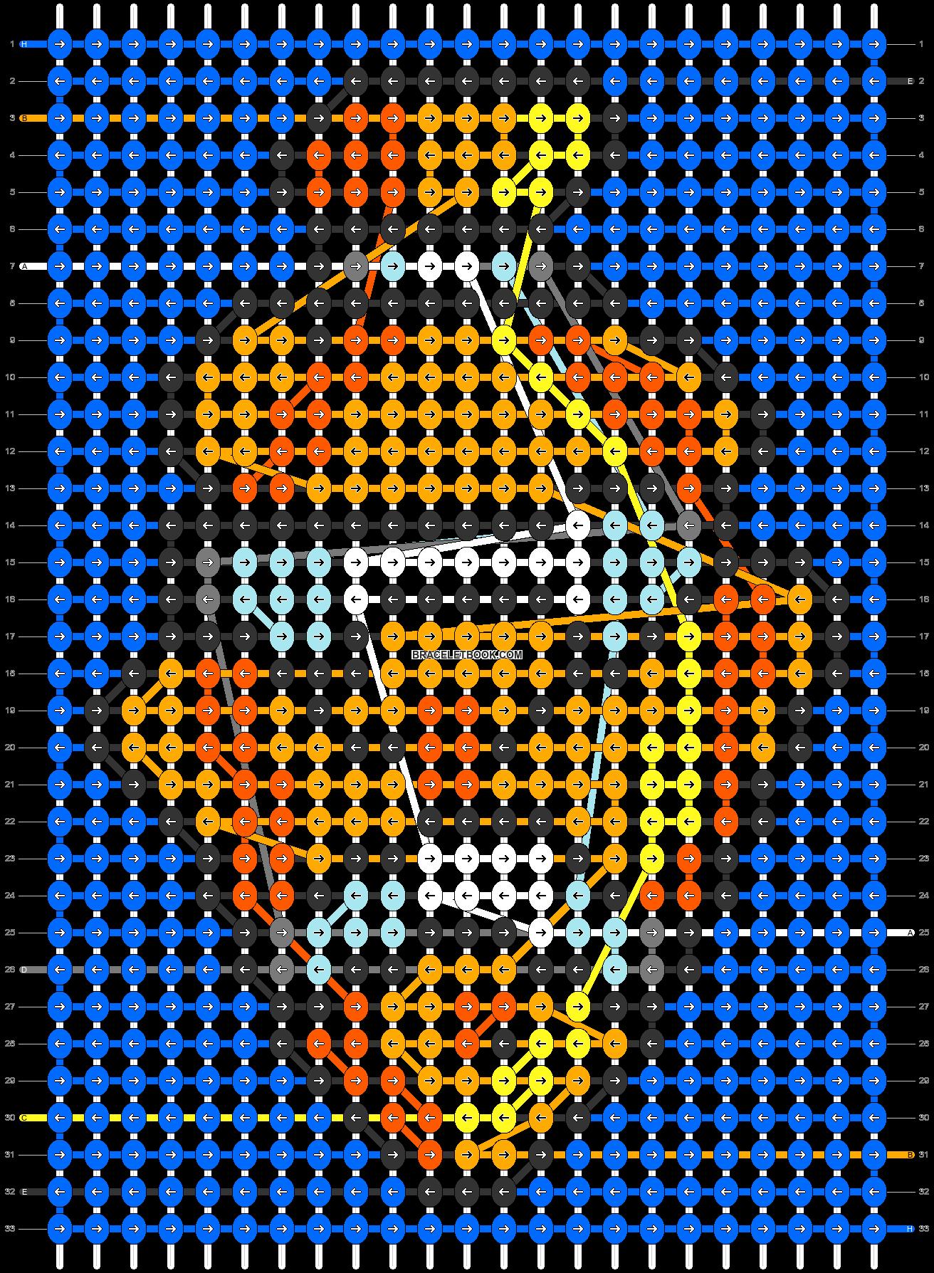 Alpha pattern #46974 pattern