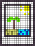 Alpha pattern #46975