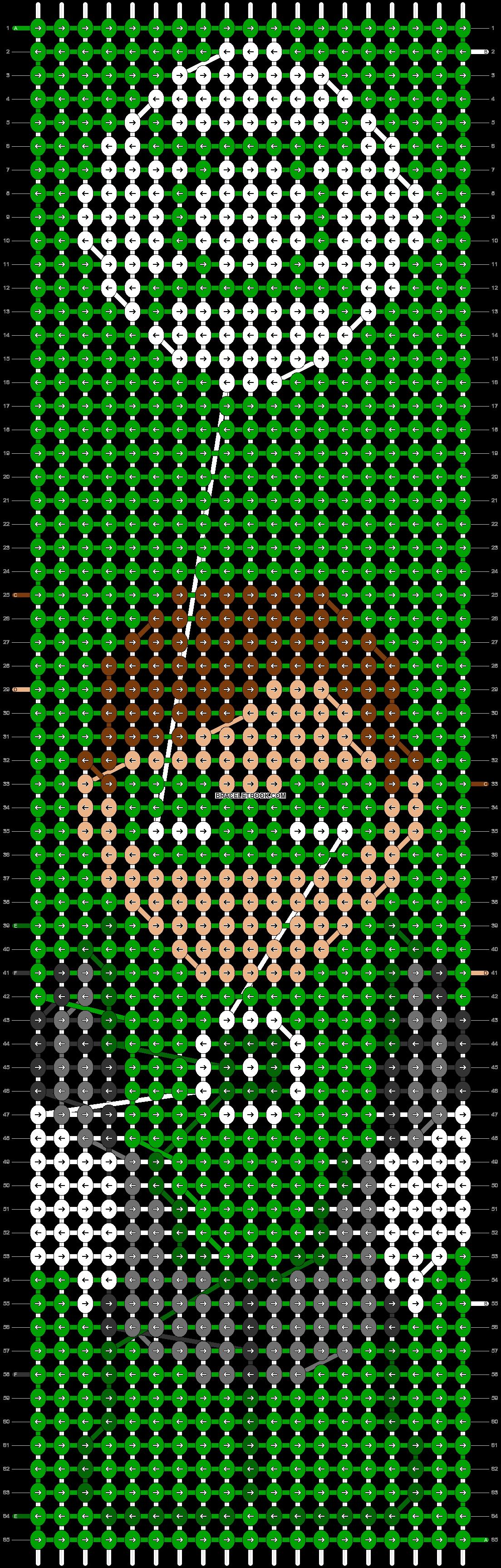 Alpha pattern #47000 pattern