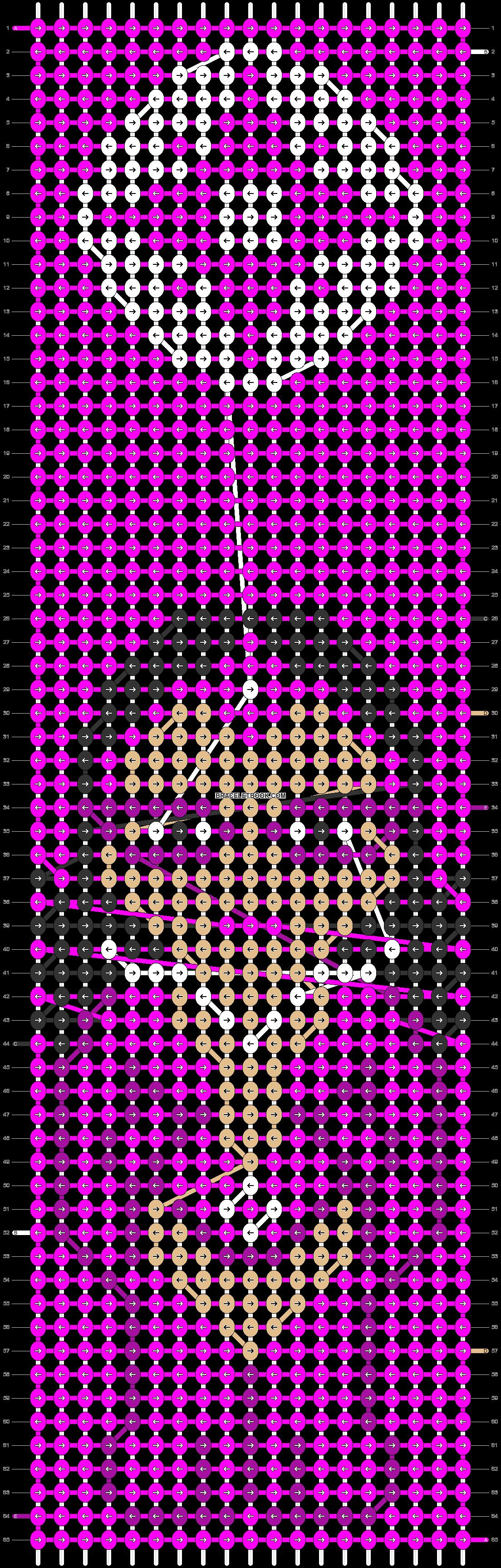 Alpha pattern #47003 pattern
