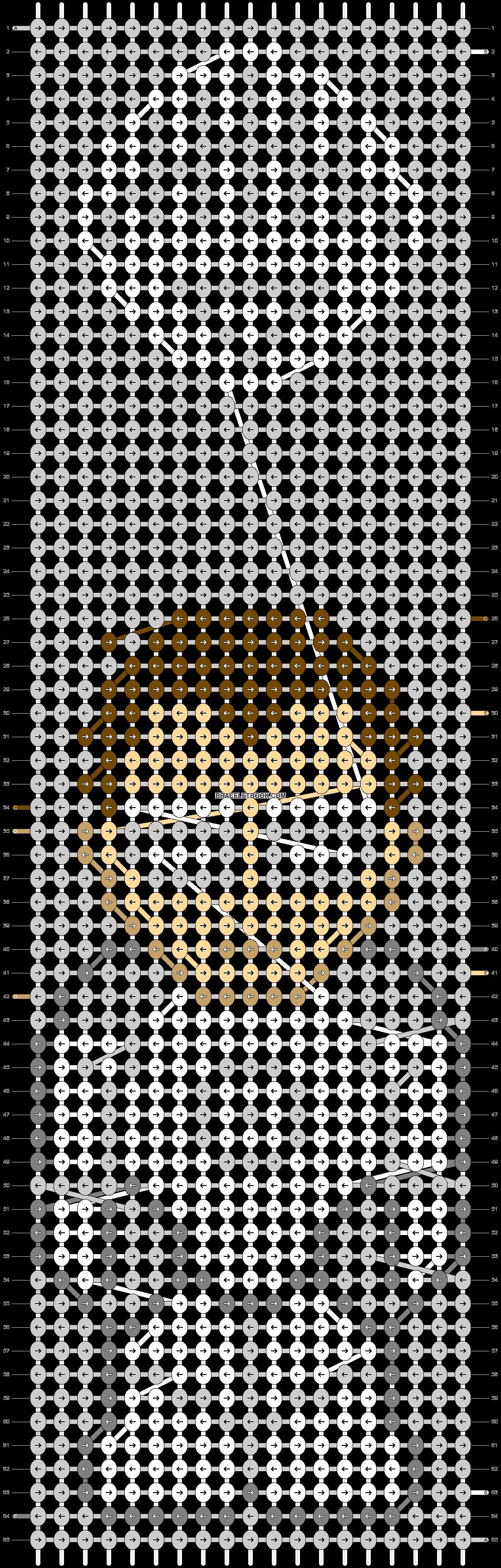 Alpha pattern #47004 pattern